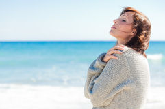 Relax seaside Royalty Free Stock Photo