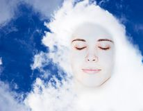 Relax in sky Royalty Free Stock Images
