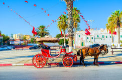 Relax in Sousse Royalty Free Stock Images