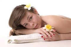 Relax at spa Stock Images