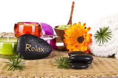 Relax Spa Concept Royalty Free Stock Photography