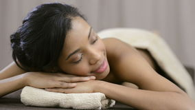 Relax at spa stock footage
