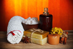 Relax spa still-life Stock Images