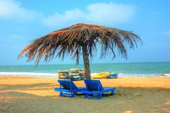 Relax. Summer, beach, you and me Royalty Free Stock Photos