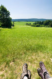 Relax in summer countryside Royalty Free Stock Photo