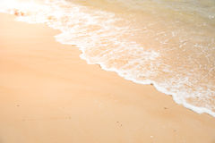 Relax in summer time on sand beach island nature Stock Images
