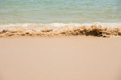 Relax in summer time on sand beach island nature Royalty Free Stock Images