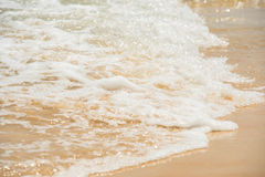 Relax in summer time on sand beach island nature Royalty Free Stock Photos