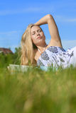 Relax in the sun Royalty Free Stock Photos