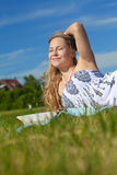 Relax in the sun Royalty Free Stock Photography