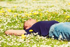 Relax in sunny day Royalty Free Stock Images