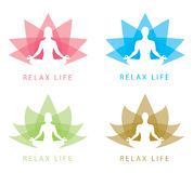 Relax symbol Royalty Free Stock Photography