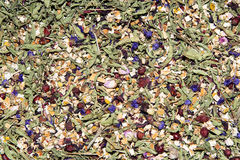 Relax Tea. Dried herbal turkish relax tea Royalty Free Stock Photos