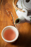 Relax with tea. Stock Photos