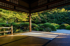 Relax in temple of Japan royalty free stock photos