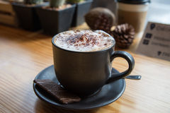 Relax time with Coffee and cookies Royalty Free Stock Photography