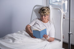 Relax time in hospice Royalty Free Stock Images
