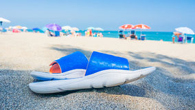 Relax time on spanish seashore Royalty Free Stock Photography