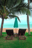 Relax at view of Andaman,Thailand Royalty Free Stock Images
