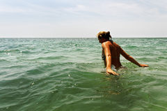 Relax in the water. Stock Photography