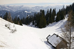 Relax Winter view of Rosstratten, Austria Stock Photography