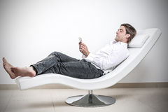 Relax after work Stock Photography