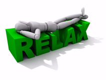 Relax XXL Royalty Free Stock Photography