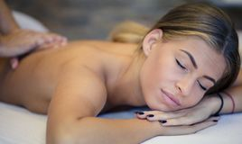 Relax and your body will be grateful to you. stock photo