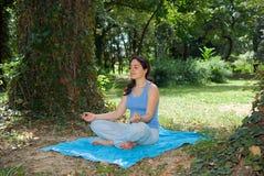 Relaxamento ao ar livre Foto de Stock