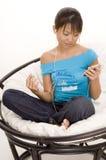 Relaxamento com música 1 Imagens de Stock Royalty Free