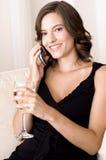 Relaxamento em casa imagens de stock royalty free