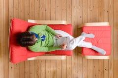 Relaxamento em casa Imagens de Stock