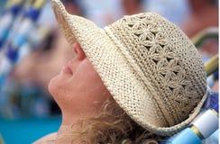 Relaxamento fêmea Imagem de Stock Royalty Free