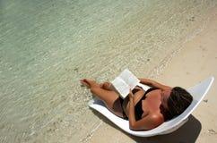 Relaxamento lido Fotografia de Stock Royalty Free