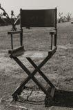 Relaxamento na cadeira de um diretor Fotografia de Stock