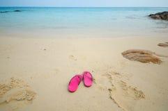 Relaxamento na praia Imagem de Stock