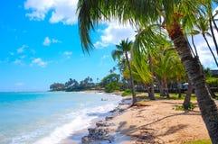 Relaxamento na praia. Fotos de Stock Royalty Free