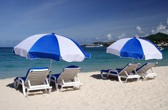 Relaxamento no sol Imagem de Stock