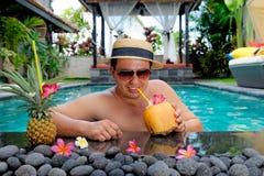 Relaxamento no feriado Fotos de Stock