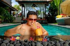 Relaxamento no feriado Imagem de Stock Royalty Free