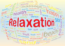 Relaxation Images libres de droits