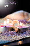 Relaxation aids with cinnamon. Royalty Free Stock Photos