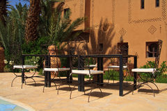 Relaxation area Stock Photo