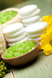 Relaxation - Aromatherapy minerals Royalty Free Stock Photo
