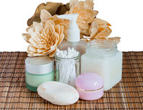 Relaxation and body treatment Stock Photo