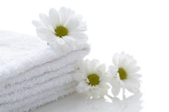 Relaxation and body treatment. Still life: relaxation and body treatment stock photo