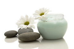Relaxation and body treatment. Object royalty free stock photos