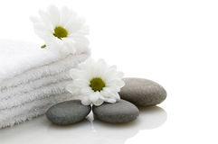 Relaxation and body treatment stock image