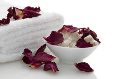 Relaxation and body treatment Royalty Free Stock Photo