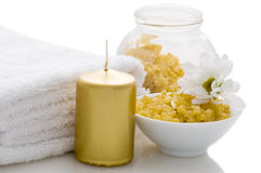 Relaxation and body treatment. Concept royalty free stock photo